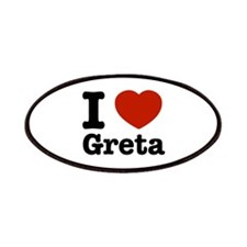 I love Greta Patches