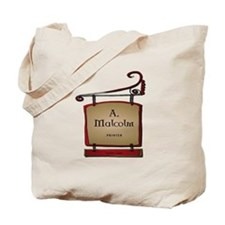 Jamie A. Malcolm Printer Tote Bag