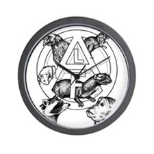 Unique Animal liberation front Wall Clock