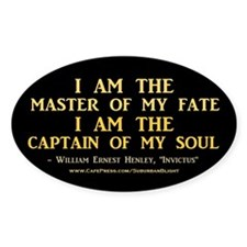 """""""Master Of My Fate"""" Decal"""