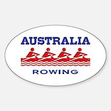 Australia Rowing Decal