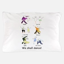 Ballroom Dancers Pillow Case
