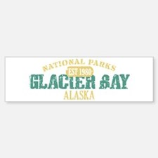 Glacier Bay National Park AK Bumper Bumper Sticker