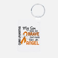 Angel 2 Leukemia Keychains