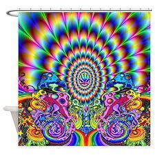 Unique Blunts Shower Curtain