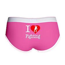 I Love Fighting Women's Boy Brief