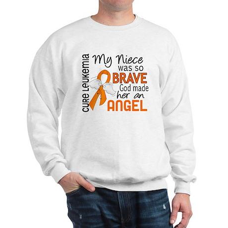 Angel 2 Leukemia Sweatshirt