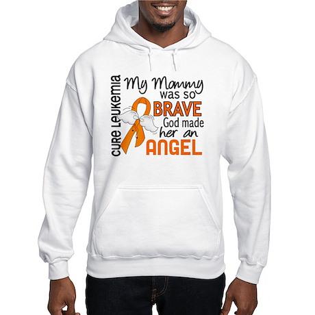 Angel 2 Leukemia Hooded Sweatshirt