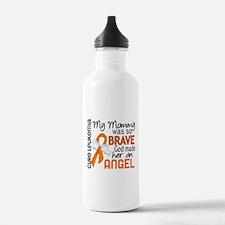 Angel 2 Leukemia Water Bottle