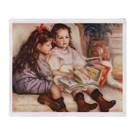 Storytime, Renoir Throw Blanket