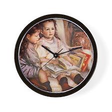 Storytime, Renoir Wall Clock