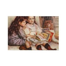 Storytime, Renoir Rectangle Magnet