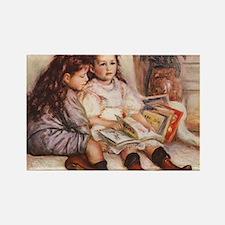 Storytime, Renoir Rectangle Magnet