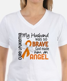 Angel 2 Leukemia Shirt