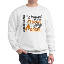 Angel 2 Leukemia Sweater