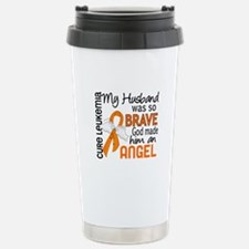 Angel 2 Leukemia Travel Mug