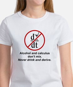Alcohol and Calculus Tee