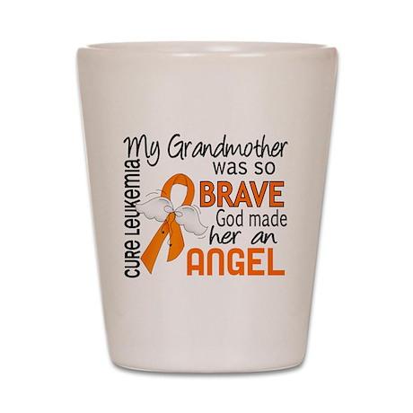 Angel 2 Leukemia Shot Glass