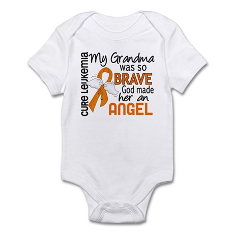 Angel 2 Leukemia Infant Bodysuit