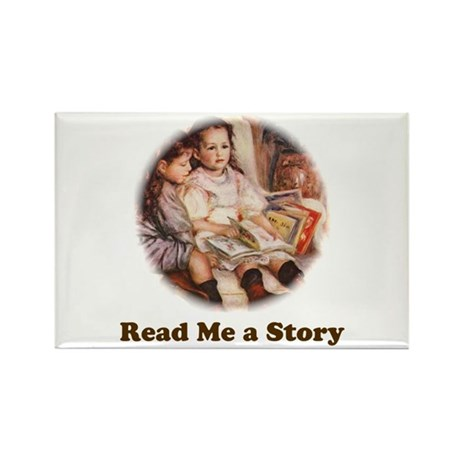 Young Readers, Renoir Rectangle Magnet
