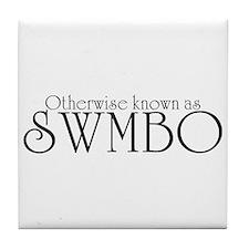SWMBO Tile Coaster