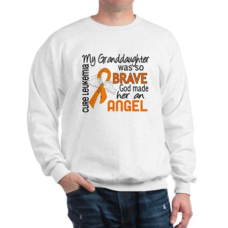 Angel 2 Leukemia Sweatshirt