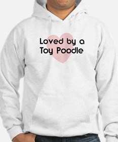 Loved by a Toy Poodle Hoodie