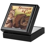 Sponsor a Cat Keepsake Box