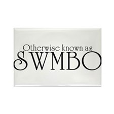 SWMBO Rectangle Magnet (10 pack)