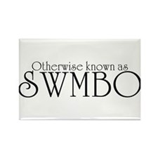SWMBO Rectangle Magnet