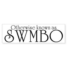 SWMBO Bumper Sticker