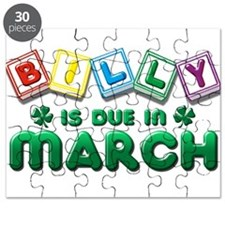 Billy is Due in March Puzzle