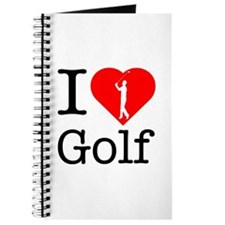 I Love Golf Journal