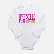 Pixie Powerhouse Long Sleeve Infant Bodysuit