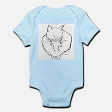 Contented Cat Infant Bodysuit