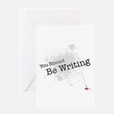 You should be writing Greeting Card