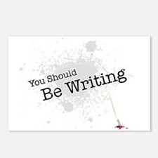 You should be writing Postcards (Package of 8)
