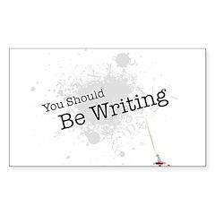 You should be writing Sticker (Rectangle 10 pk)