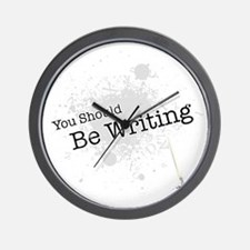 You should be writing Wall Clock