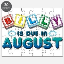 Billy is Due in August Puzzle