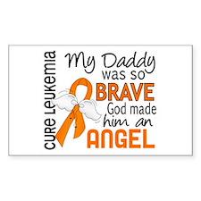 Angel 2 Leukemia Decal