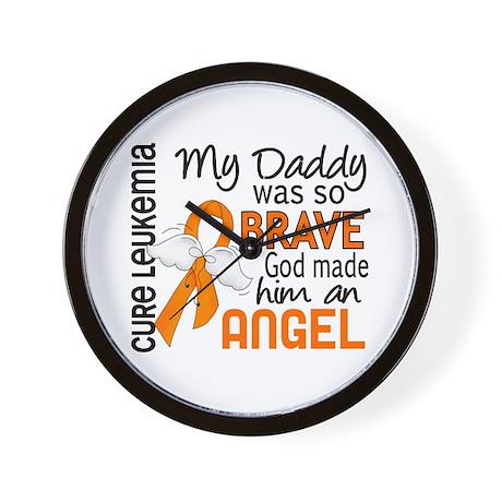 Angel 2 Leukemia Wall Clock