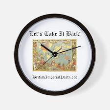 Take It Back! Wall Clock