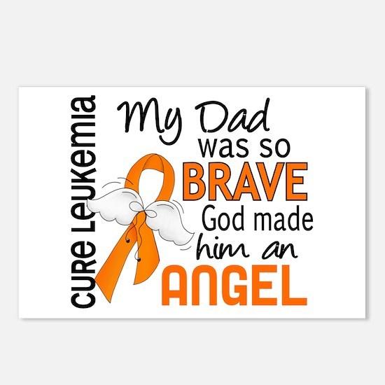 Angel 2 Leukemia Postcards (Package of 8)