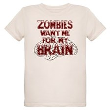 Zombies Want My Brain T-Shirt