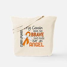 Angel 2 Leukemia Tote Bag