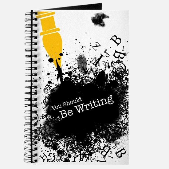 You should be writing (pen) Journal