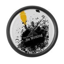 You should be writing (pen) Large Wall Clock