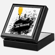 You should be writing (pen) Keepsake Box
