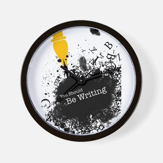 You should be writing (pen) Wall Clock